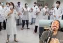 """Canção """"Novo Tempo"""" – regravada pela bandaBigode Groove com participação de profissionais de saúde"""