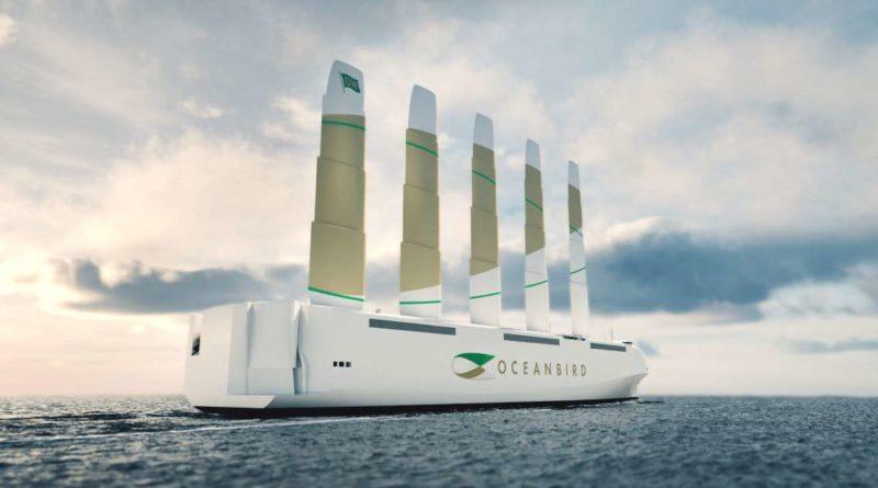 Navio cargueiro gigante movido a vento promete mudar o transporte marítimo