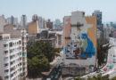 Novo mural em São Paulo foi feito com tinta que ajuda a limpar o ar