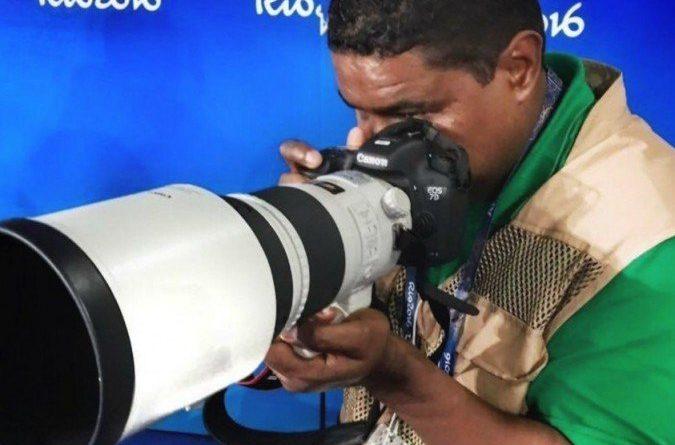 O fotógrafo cego do Piauí que luta para cobrir Paralimpíadas de Tóquio