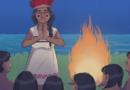 História em quadrinhos plurilíngue retrata língua indígena de sinais
