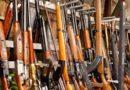 Eles derreteram 22.000 armas de fogo na Bélgica, reciclando-as em aço